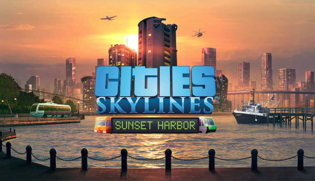 Cities Skylines Sunset Harbor