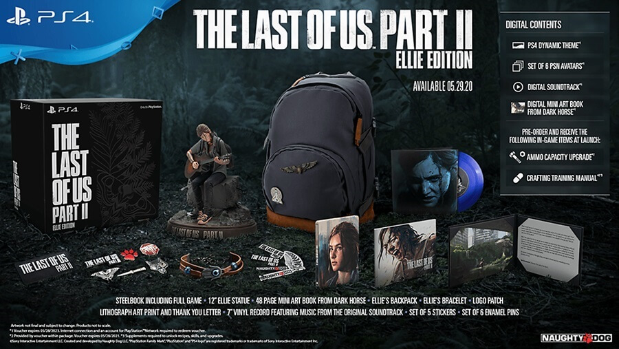The last of us II ในแบบ Elite Edtion
